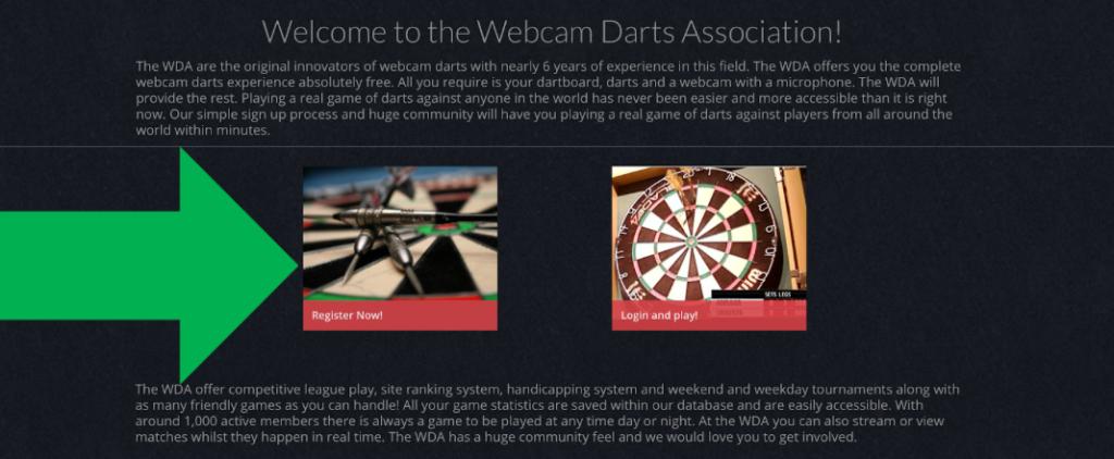 Hoe werkt Webcamdarts? - Darts Experts